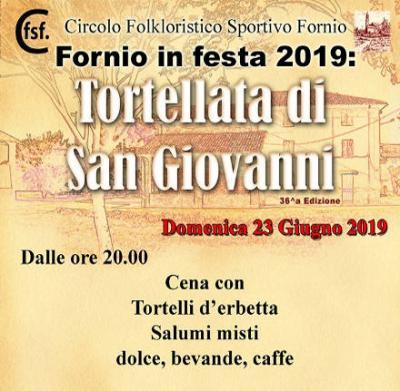 Tortellata di San Giovanni - Fornio di Fidenza (PR) - 23 giugno