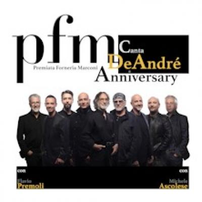 PFM canta De Andrè Anniversary - Torino - 22 e 26 novembre