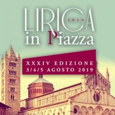 Lirica in piazza - Massa Marittima - dal  3 al  5 agosto