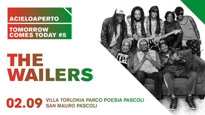 The Wailers @ ACieloAperto 2017. Villa Torlonia, San Mauro Pascoli, 02 settembre 2017. © ASSOCIAZIONE CULTURALE RETROPOP LIVE