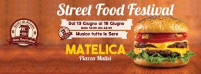 Street Food Festival ® Matelica dal 13 al 16 giugno 2019. © Associazione Gente di Strada.