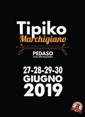 Tipiko Marchigiano 2019 a Pedaso dal 27 al 30 giugno 2019 . © Gente di Strada.