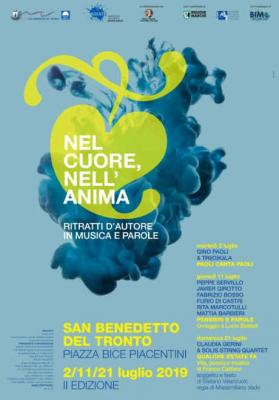 Nel Cuore, Nell'Anima - II edizione, San Benedetto del Tronto. 02/11/21 luglio 2019. © Comune di San Benedetto del Tronto / AMAT.