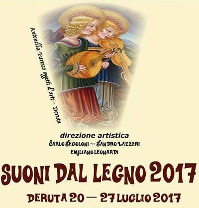 locandina Suoni dal Legno 2017 -Deruta