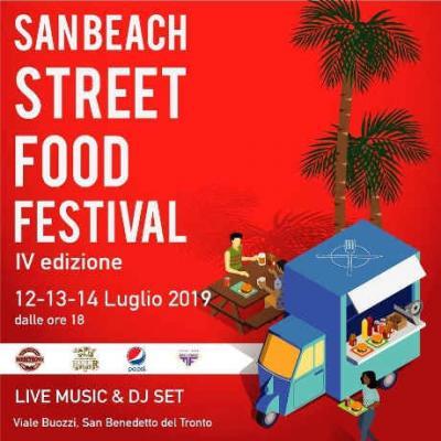 San Beach Street Food Festival 2019, IV edizione. A San Benedetto del Tronto dal 12 al 14 luglio 2019. © SBSF Festival.