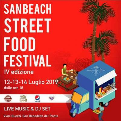 San Beach Street Food Festival 2019 - 12-13-14 luglio