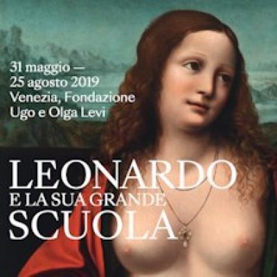 Leonardo e la sua Grande Scuola, locandina della mostra