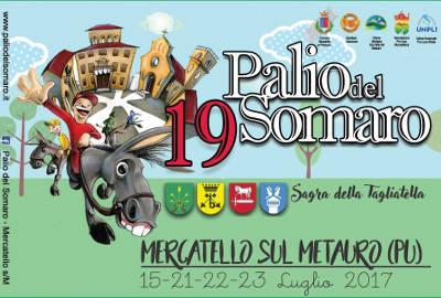 locandina Palio del Somaro 2017 - Mercatello