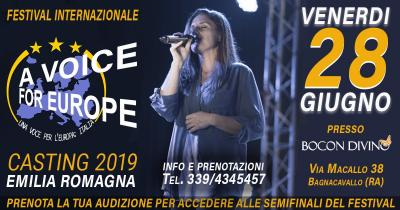A voice for Europe casting Ravenna