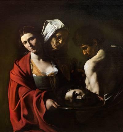 Salome-Caravaggio