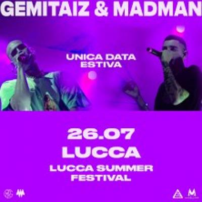 Gemitaiz and Madman - Lucca - 26 luglio