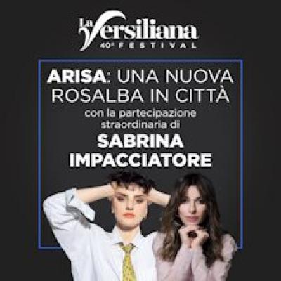 Arisa con Sabrina Impacciatore