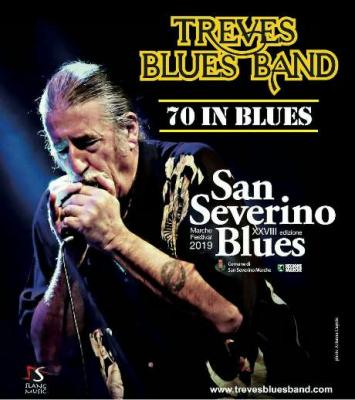 Treves Blues Band @ San Severino Blues, 06 luglio 2019. © Arianna Cagnin / San Severino Blues.