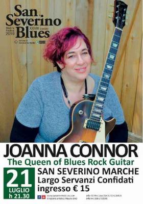 Joanna Connor @ San Severino Blues, 21 luglio 2019. © San Severino Blues.