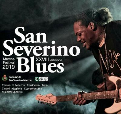 San Severino Blues - Marche Festival, XXVIII edizione, dal 05 luglio al 01 settembre 2019. © San Severino Blues.