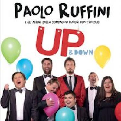 Paolo Ruffini in Up and Down - Pisa - 10 settembre