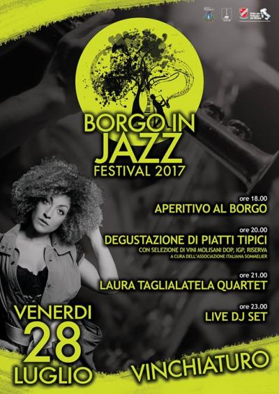 Borgo in Jazz - Vinchiaturo (CB) luglio 2017