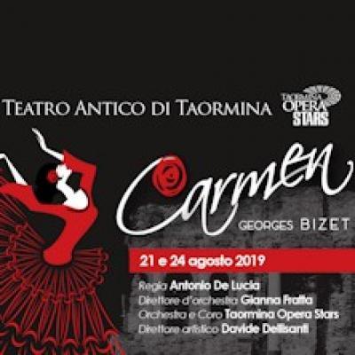 Carmen - Taormina - dal 21 e 24 agosto