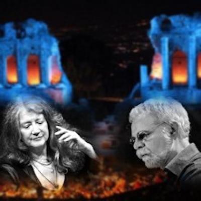 Martha Argerich e Daniel Rivera