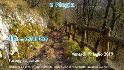In...canto nel bosco - Posta Fibreno (FR) - 19 luglio