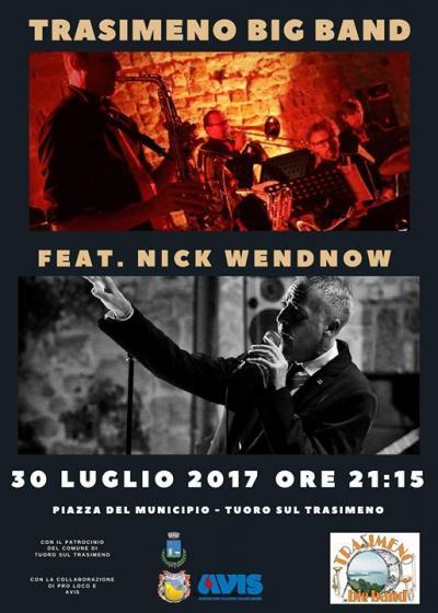 locandina concerto Trasimeno Big Band