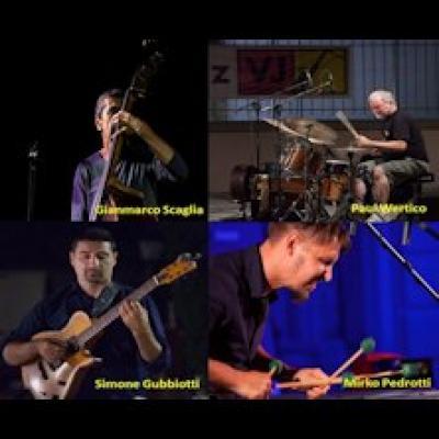 GM4tet, Progetto Originals feat Paul Wertico - Arezzo - 25 luglio