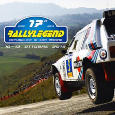Rallylegend One - Serravalle (San Marino) - dal 10 al 13 ottobre