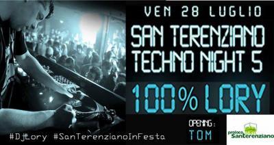Techno Night 5 - San Terenziano 2017