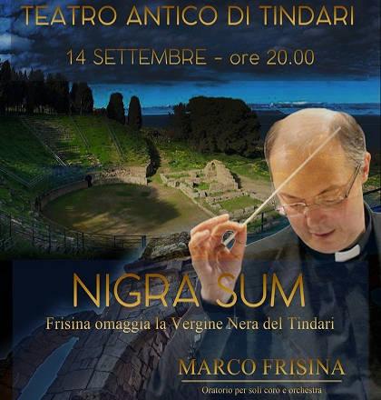 Marco Frisina omaggia la Vergine nera del Tindari - Tindari - 14 settembre