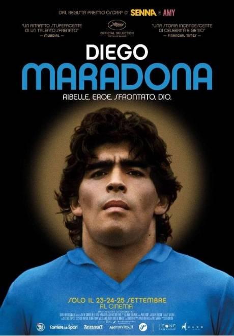 locandina Diego Maradona - Alessandria
