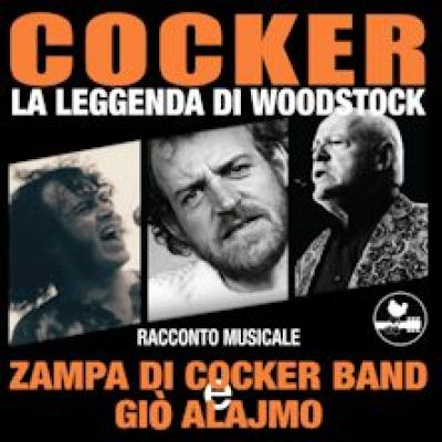 Giò Alajmo e Zampa di Cocker Band in Cocker: La Leggenda di Woodstock - Padova - 26 agosto
