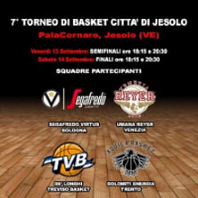 Torneo di Basket - Jesolo - 13 e 14 settembre