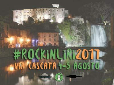 cascata Isola Liri - Rock in Liri 2017