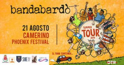 Bandabardò @ Camerino Phoenix Festival - 21 agosto