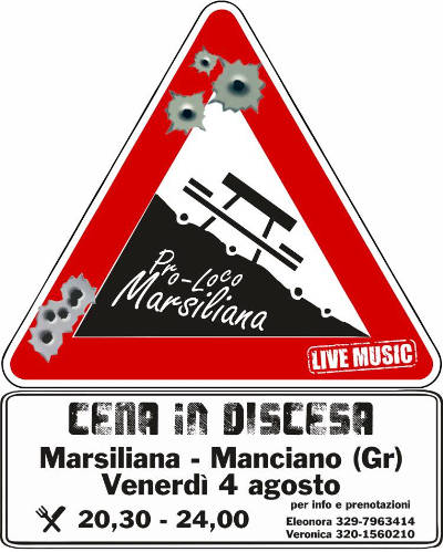 Cena in Discesa - Marsiliano 2017