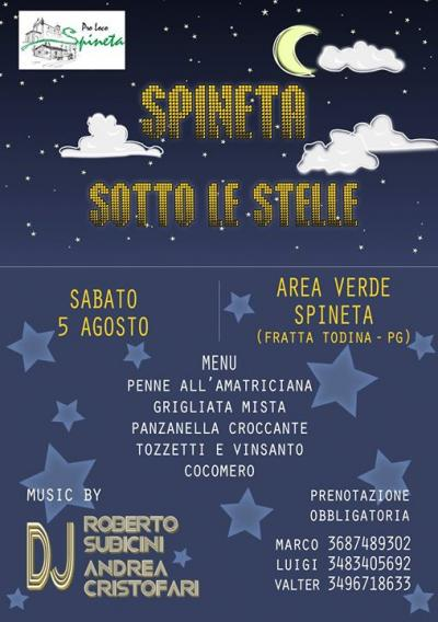 Spineta sotto le Stelle