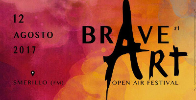 Brave Art Open Air Festival a Smerillo, 12 agosto 2017. © ProLoco Smerillo