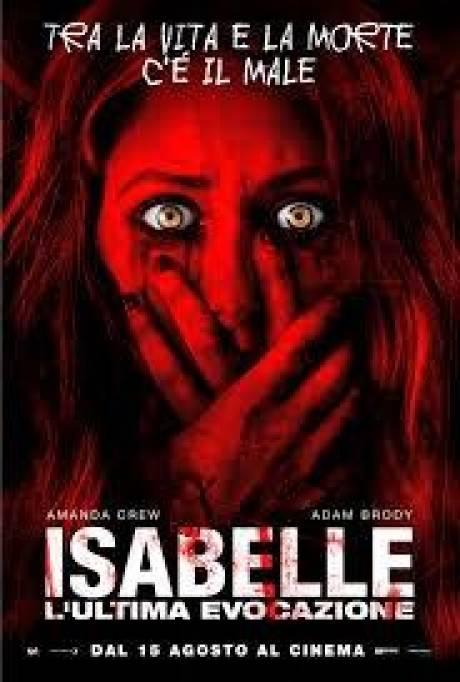 locandina Isabelle: l' ultima evocazione - Villesse
