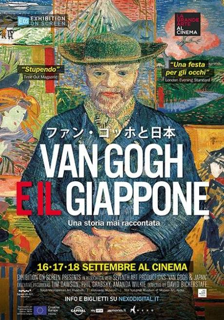 locandina Van Gogh e il Giappone - Bolzano