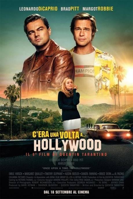 locandina C' era una volta ad Hollywood - Moncalieri