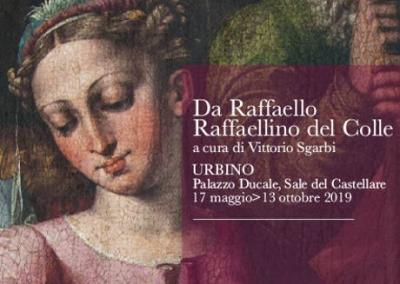 Da Raffaello. Raffaellino del Colle. A cura di Vittorio Sgarbi. Urbino | 17 maggio - 13 ottobre 2019. © Da Raffaello. Raffaellino del Colle / Sistema Museo.