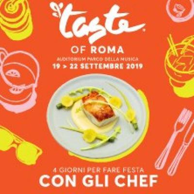 Taste of Roma - Roma - dal 19 al 22 settembre
