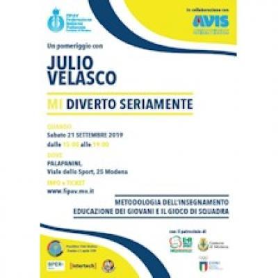 Julio Velasco: Mi Diverto Seriamente - Modena - 21 settembre