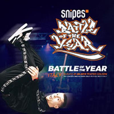 SNIPES: Battle of the Year Italy - Roma - 21 settembre