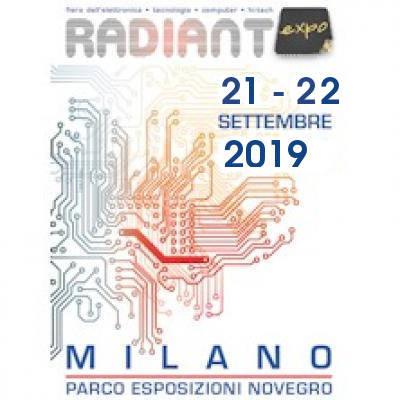 Radiant Expo - Segrate - 21 e 22 settembre
