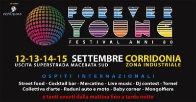 Forever Young - Festival Anni 80 by La Ricreazione srl. Corridonia | dal 12 al 15 settembre 2019. © La Ricreazione srl.