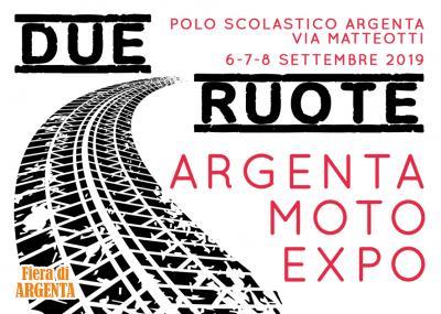 cartolina Due Ruote Expo - Argenta 2019