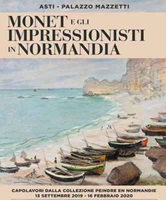 Monet e gli impressionisti in Normandia. Palazzo Mazzetti, Asti dal 13 settembre 2019 al 16 febbraio 2020. © Collezione Peindre en Normandie.