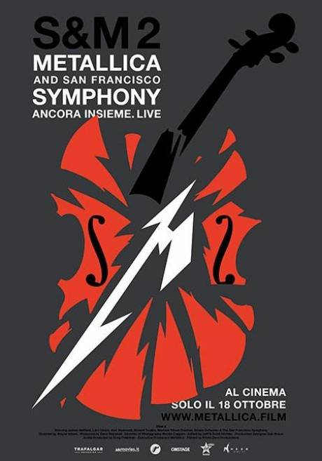locandina Metallica & San Francisco Symphony: S&M2 - Catania