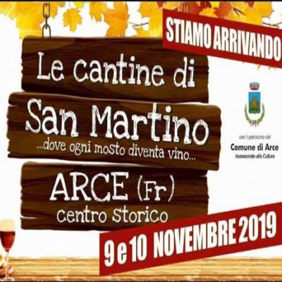 Le Cantine di San Martino 2019 - Arce (FR) - 9 e 10 novembre